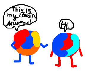 Firefox's blue-flamed cousin