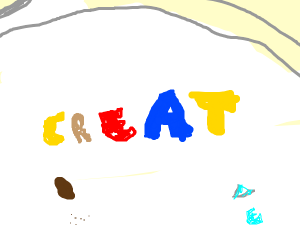 A creative bowl of cereal