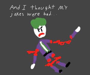 joker from batman dark knight without limbs