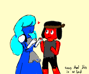 Ruby and Sapphire (Steven Universe)