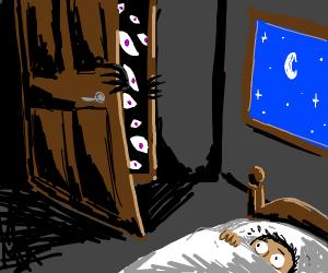 It opens your door when you sleep at night