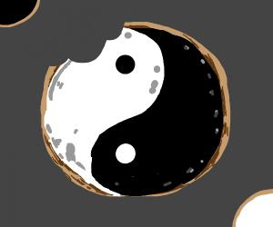 ying-yang cookie