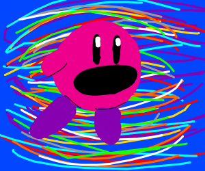 Kirby go ZOOOM through space to find new
