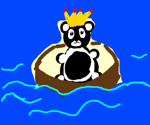 king panda of the sea