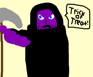 purple grim reaper