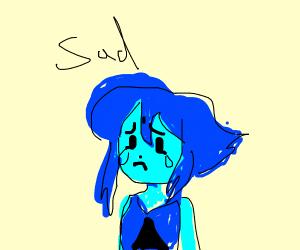 Lapis being depressed