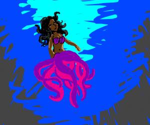 Octopus mer-creature