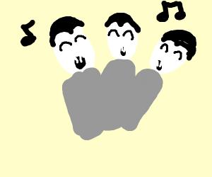 A vampire choir