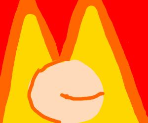 Peach is fine in fire