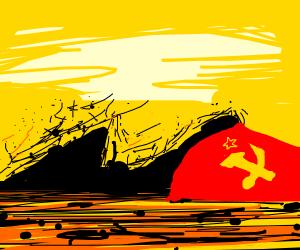 Communism bit the dust