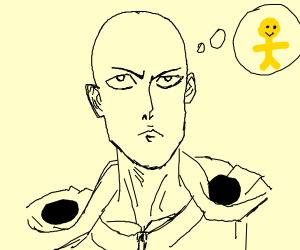 saitama thinking asian thoughts