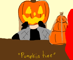it pumpkin time