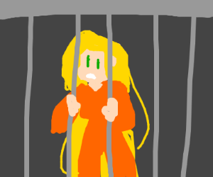 Imprisoned Rapunzel