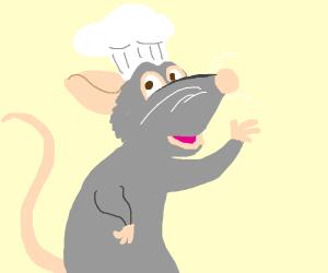 Rat chef (ratatouille)