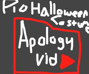 Your halloween costume PIO