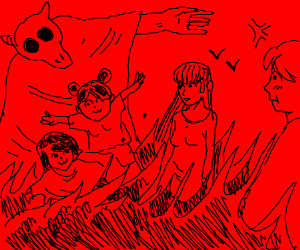 anime girls in hell