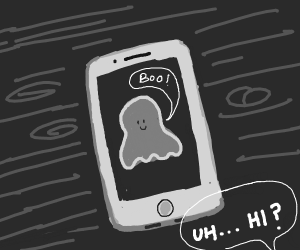 Ghost in an iphone
