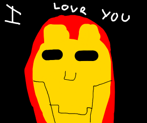 Iron man loves you