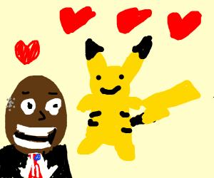 Obama loves Pikachu