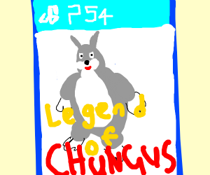 It's Big Chungus for the PS4!