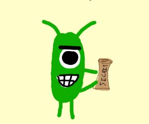 Plankton stole the secret formula