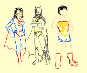 Super friends gender swap