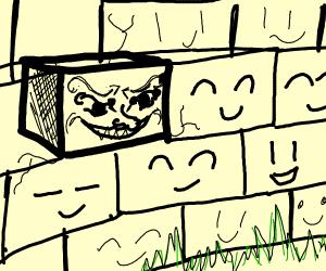 Evil brick