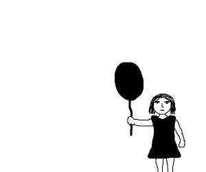 Girl with Balloon (Banksy?)