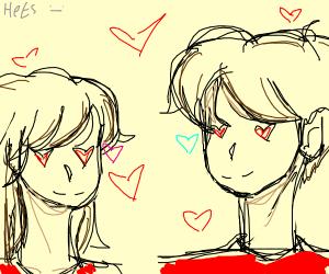Anime het relationship