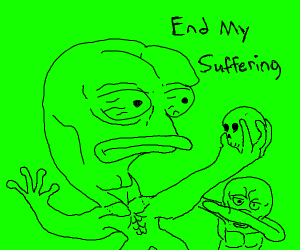 Pepe wants his suffering to end