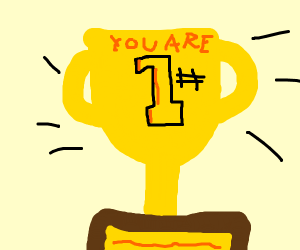 You are #1 trophy