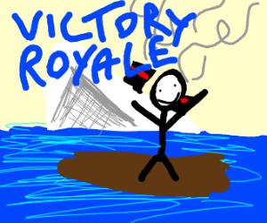 epic victory royale: titanic edition