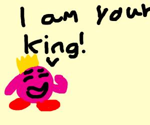 King/Superhero pink ball