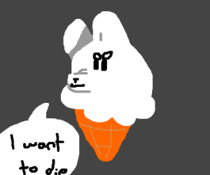 fury ice cream wants to die