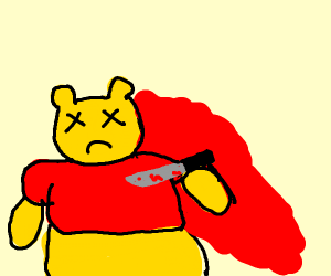 The murder of a pooh bear