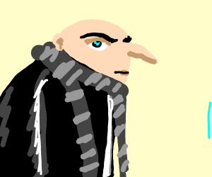 anime Gru from Despicable Me