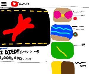I died!! (not clickbait)