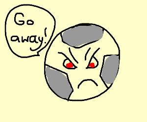 Grouchy football