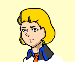 if fred from scooby doo was an anime girl
