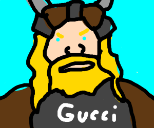 A Gucci Viking