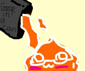Orange happy goop