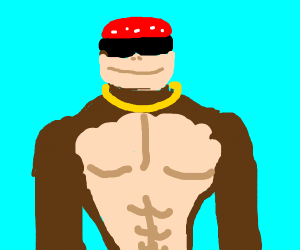 Funky Kong becomes a god