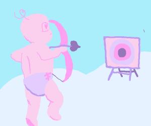 Cupid Archery Target Practice