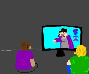 people watching some bootleg jojo
