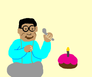 Fat Steve Urkel celebrates birthday