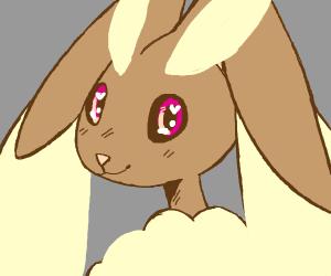 Kawaii eyed Lopunny