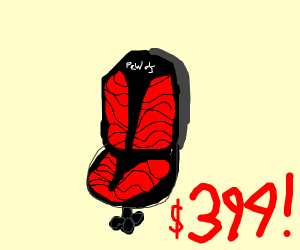 Pewdiepie's chair