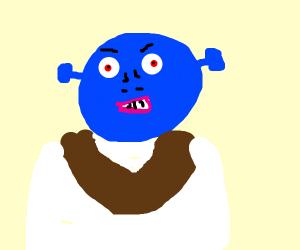 blue shrek