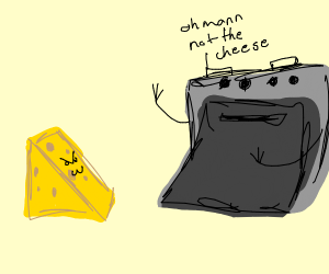 oven hates cheese