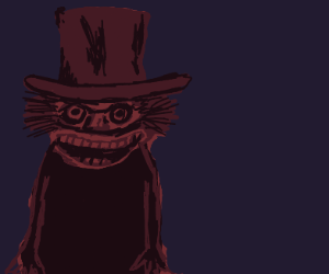 happy man with hat and beautiful teeth